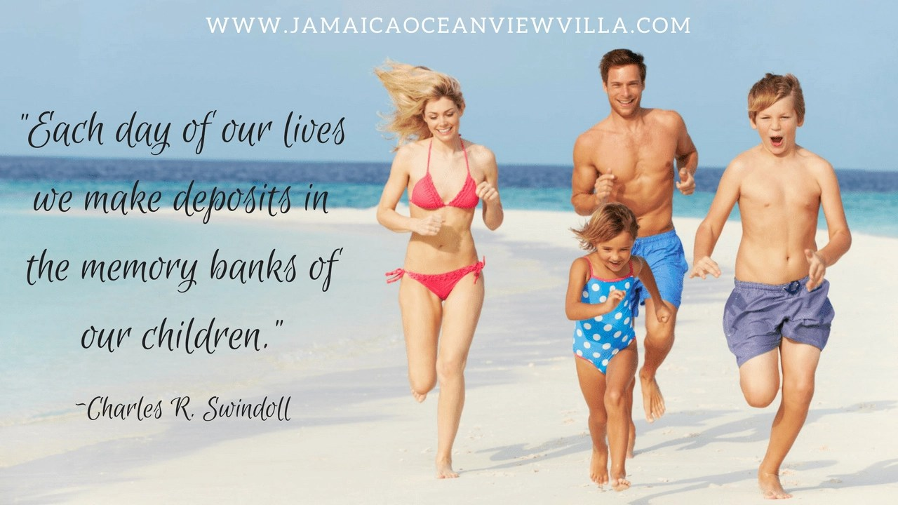 make memories on a Jamaica family vacation