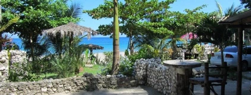Sugar pot beach bar Ocho Rios Jamaica