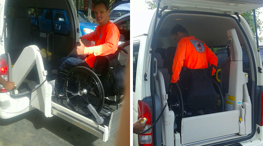 Montego Bay Wheelchair Taxi | Jamaica Wheelchair Taxi - transport for wheelchair passengers