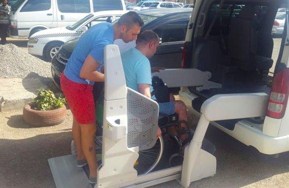 Ocho Rios Wheelchair Taxi   Jamaica Wheelchair Taxi - transport for wheelchair passengers