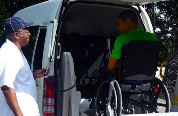 Montego Bay Wheelchair Taxi   Jamaica Wheelchair Taxi - transport for wheelchair passengers