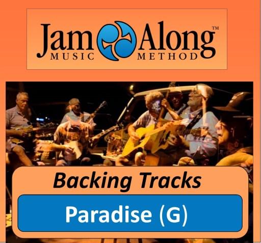 Paradise - Backing Tracks (G)