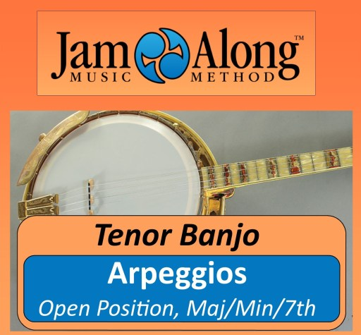 Arpeggios for Tenor Banjo
