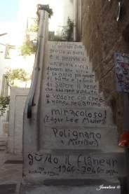 Guido il Flâneur- Polignano a Mare