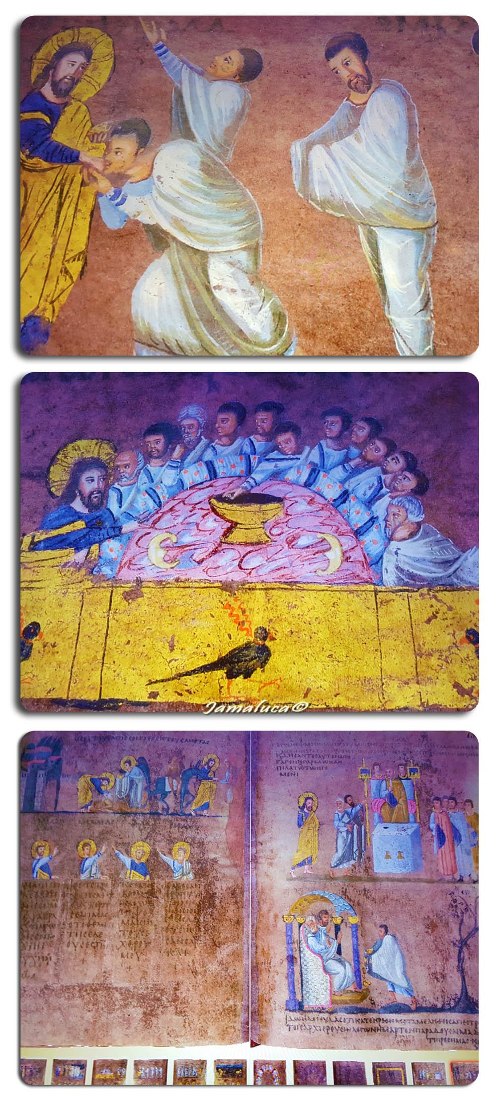 il codex purpureus rossanensis