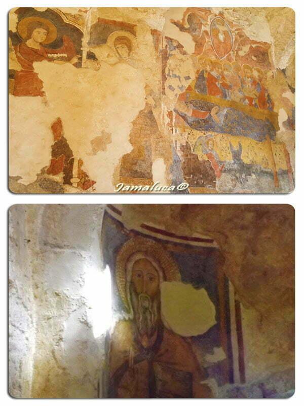 Cosa vedere a Stilo - affreschi della Cattolica