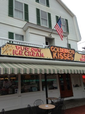 Goldenrod Kisses Candy Store and Ice Cream Parlour