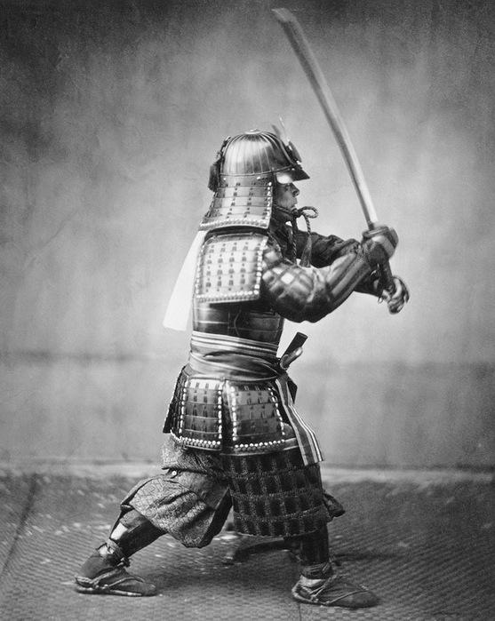 Samouraï photo 1860.