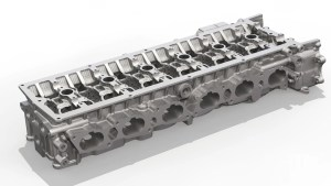 Cylinder Head - Reverse Engineering Cad Modelling