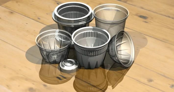 Plastic Fruit Cups - Domestic - CAD Modelling