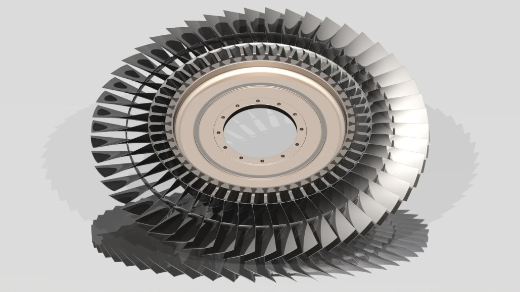 Engine Blades Rotor Stage - Aerospace - Blog