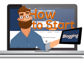 Two Easy Steps to Create a Professional Blog and Start Generating an Income With It