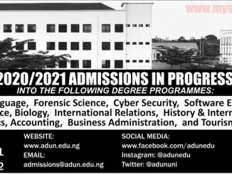 Admiralty University of Nigeria Post UTME Form is Out 2020/2021