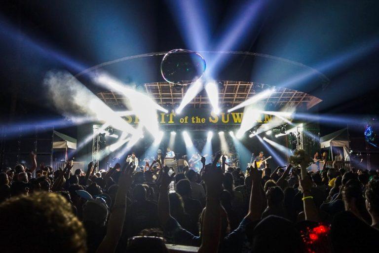 The Mushroom Stage at Suwannee Music Park