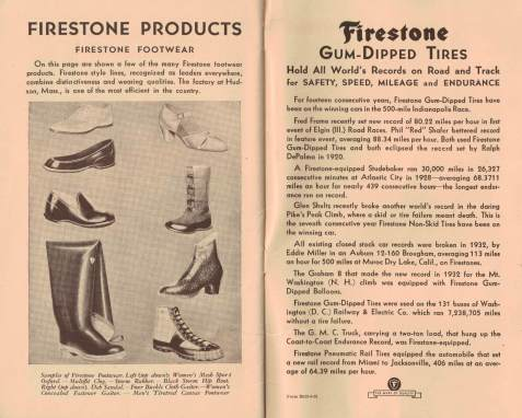 early firestone products