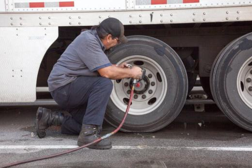 commercial truck tire test