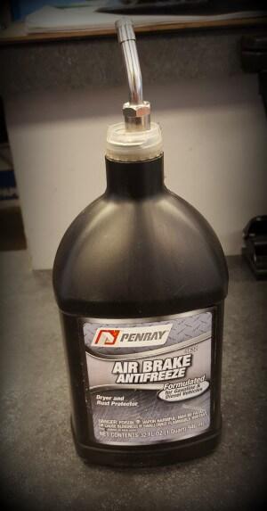 air line antifreeze
