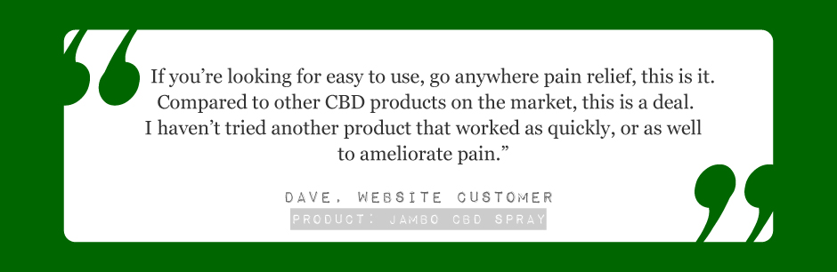 Jambo superfoods testimonial . This is the best pain relief Ive found its a great deal i love jambo