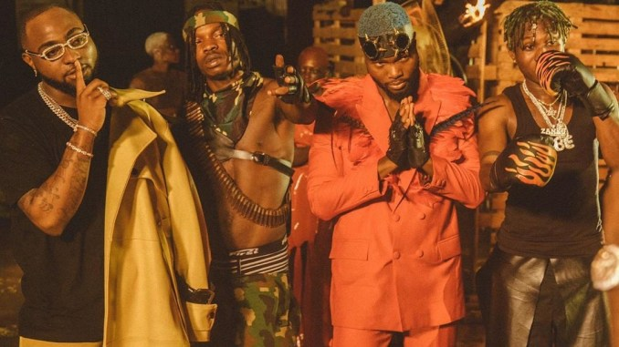 VIDEO: Davido – Sweet In The Middle Ft. Naira Marley, Zlatan & WurlD