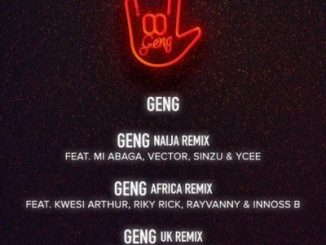 Mayorkun ft. Ms Banks & RussMB – Geng (Uk Remix)