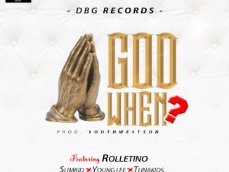 DBG Records Ft. Rolletino, Slimkid, Young Lee & Tunaskid – God When?