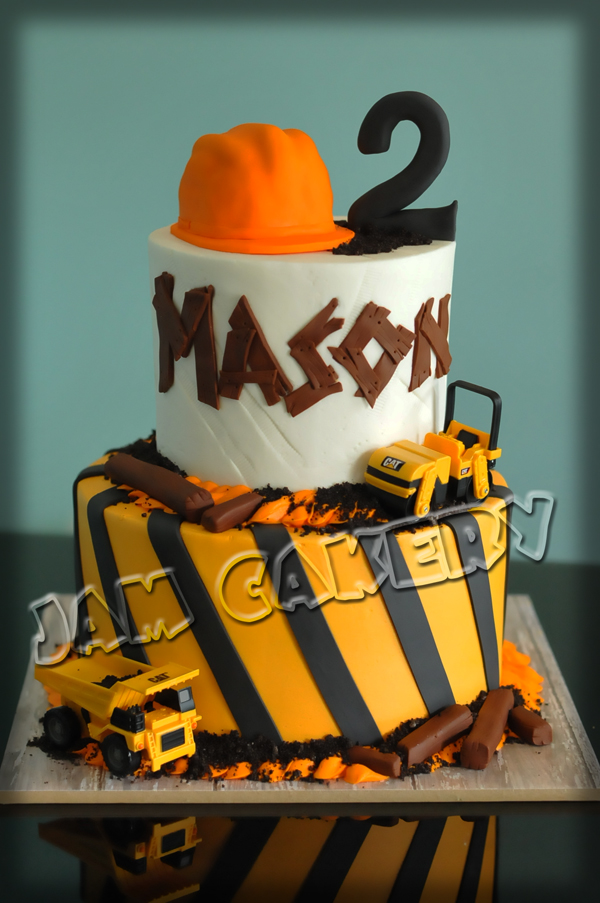Construction Cake J A M Cakery