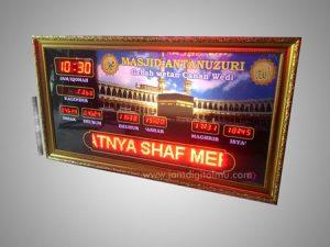 Jam Masjid Runningtext