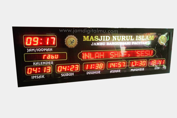 Jadwal Sholat Digital Masjid RT2
