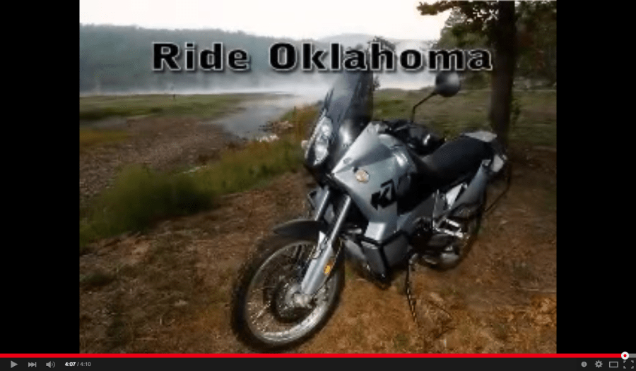 This video of dual sport riding in Clayton, OK was produced way back in 2005 - before HD video, before GoPro's.