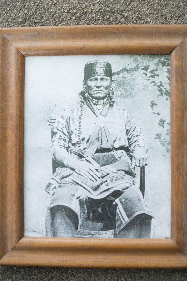 Eddy Red Eagle's grandfather.