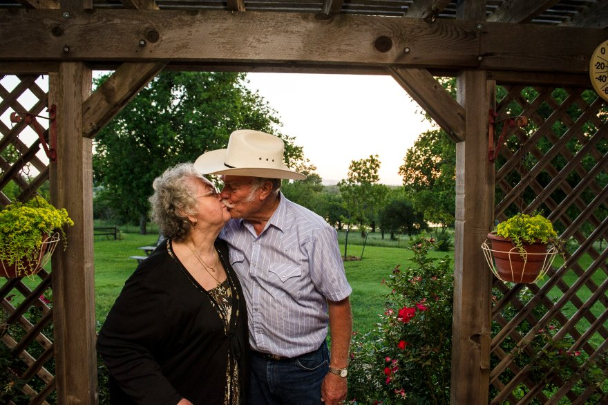 Kenneth and Barbara Goodin moved to their ancestral land after retiring from work in Lawton.
