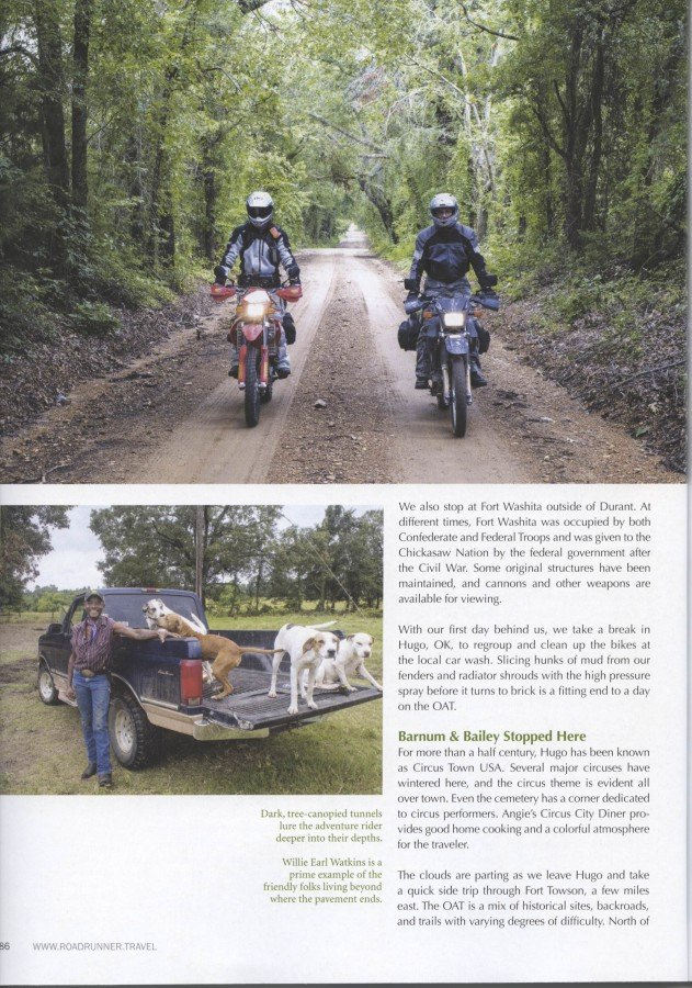Roadrunner Magazine - OAT Story Page 5