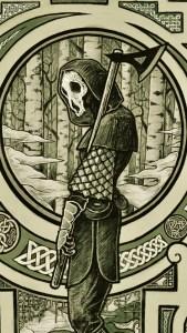 Dark Woodsman wallpaper (phone)