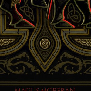 detail of Magus Morfran by James Adam Cartwright Celtic Artist JAC