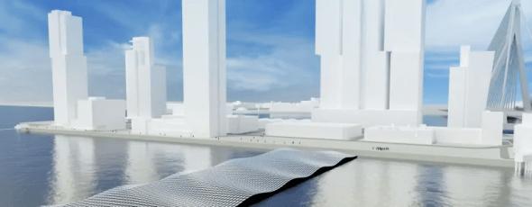 Floating Solar Panels James Alexander Michie