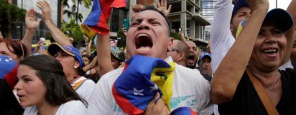 Venezuelan Anti-Government Protesters - James Alexander Michie