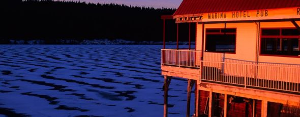 Hotel at Lac La Hache James Alexander Michie