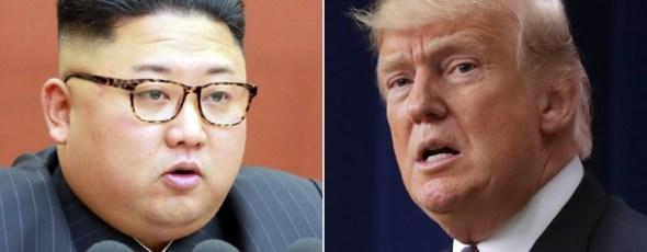 Kim John Un Donald Trump James Alexander Michie
