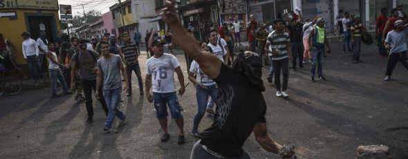 Venezuela Aid Burns James Alexander Michie