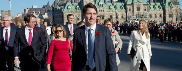 Trudeau Cabinet James Alexander Michie