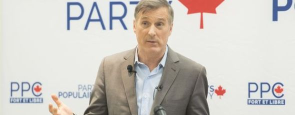 People's Party of Canada Leader Maxime Bernier James Alexander Michie