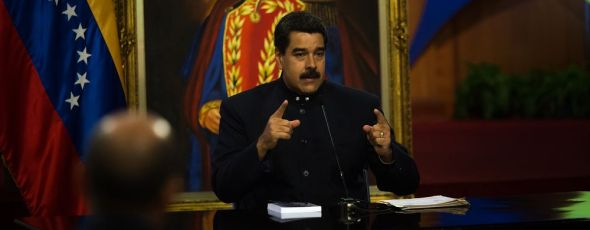 Maduro Bloomberg | James Alexander Michie