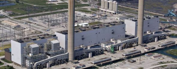 The Nanticoke generating station, in Ontario Financial Post | James Alexander Michie