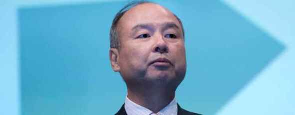 Corp. Chief Executive Officer Masayoshi Son CNBC   James Alexander Michie