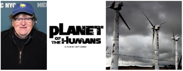 """Michael Moore produced """"Planet of the Humans"""" Forbes Getty 