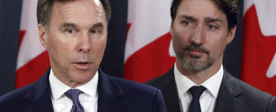 Trudeau And Finance Minister Bill Morneau National Post | James Alexander Michie