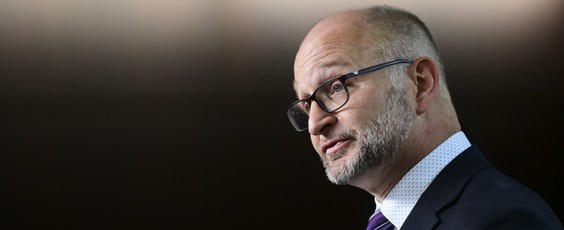 Justice Minister David Lametti National Post | James Alexander Michie