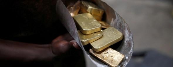 Gold Bars Refining Uganda Reuters | James Alexander Michie