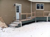Outdoor Living Space   Custom Built   James Allen Builders