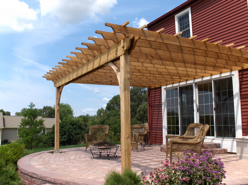 Pergola Construction | Milwaukee Suburbs | James Allen Builders